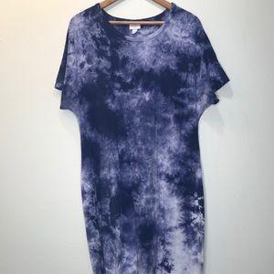 LulaRoe American Dreams Tie Dye Maria XL